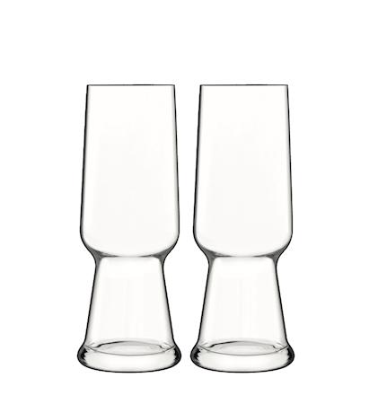 Birrateque Ölglas Pilsner 2 Pack 54cl Klar
