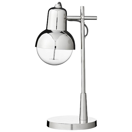 Bordslampa Carmela H41cm Silver