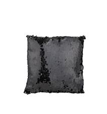 Kissen Pallieten schwarz 45x45cm