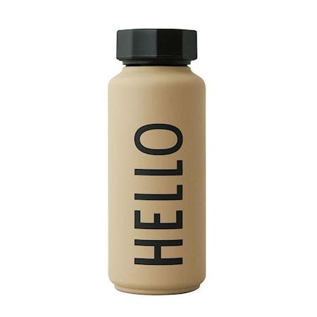 HELLO Thermo/Isolerad Flaska Special Edition Beige