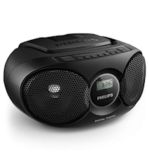 Philips Boombox CD/Radio Svart