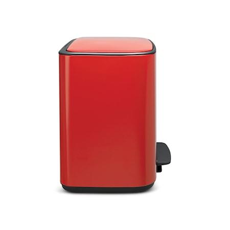 Bo Soptunna med Pedal Röd 36 L