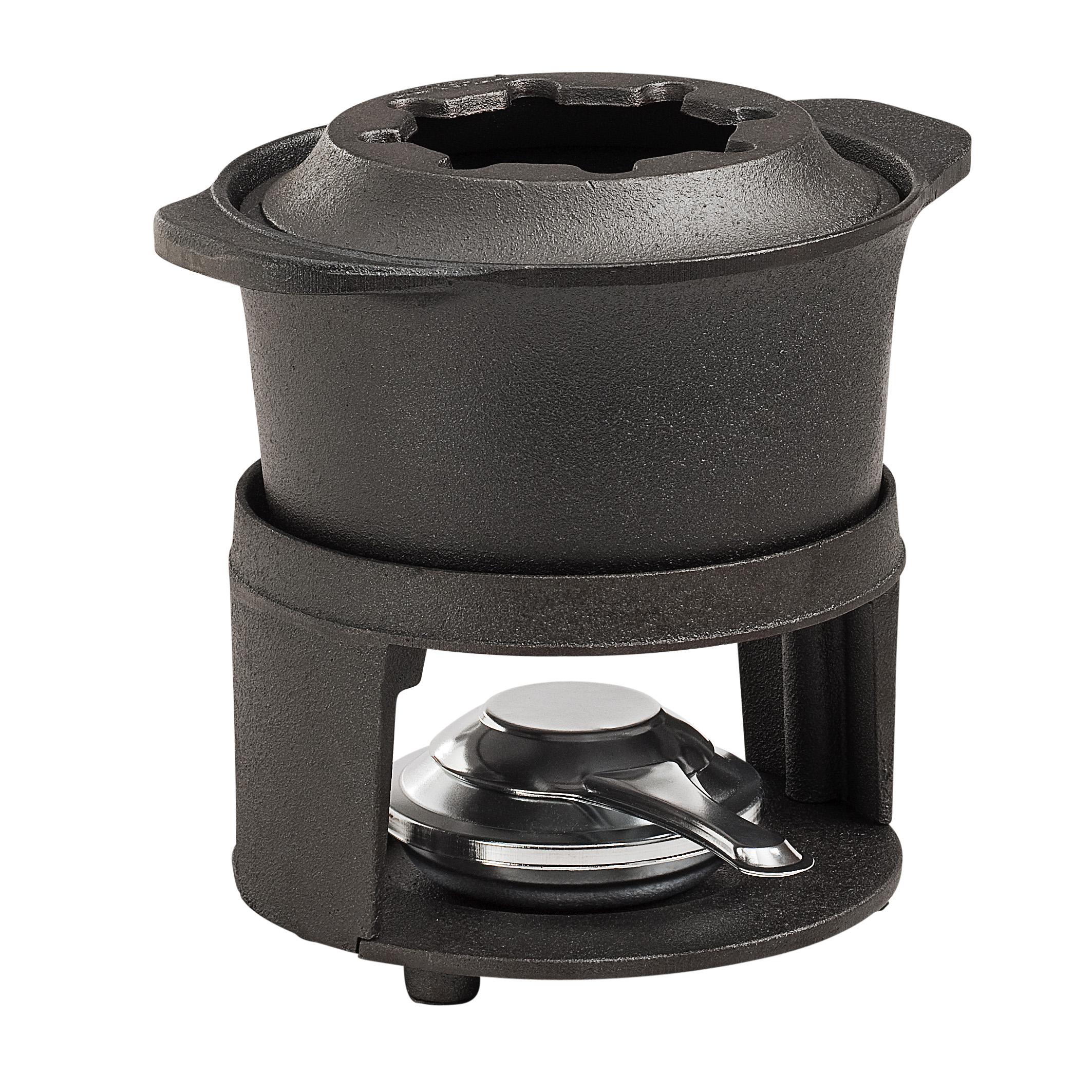 Fondueset med Kombibrännare utan lock 15 liter