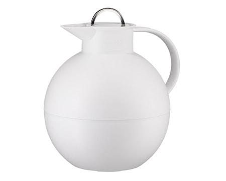 Kulan Termoskannu teräskannella Huurrettu Valkoinen 0,94 litraa