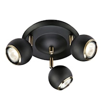 COCO Loftlampe Black/Antique