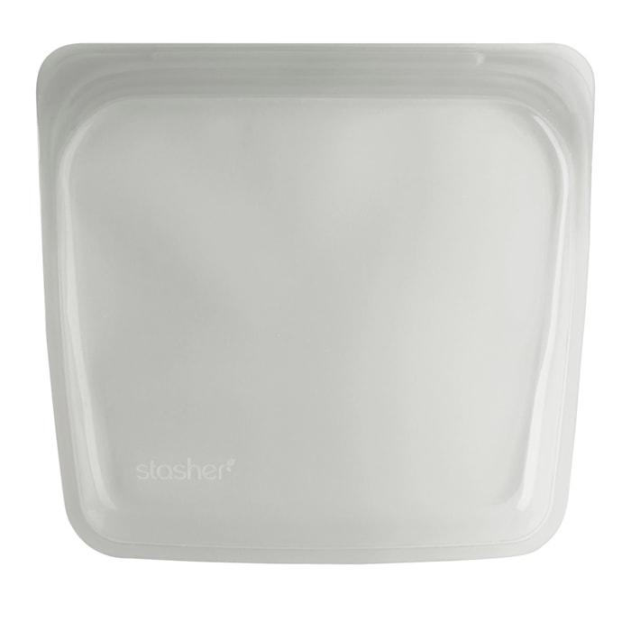 STASHER 450 ml, 18 x 19 cm kirkas