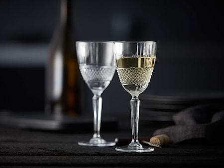 Hvidvinsglas Brillante 23 cl 4-pak