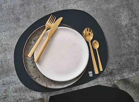Raw Bordbrikke Organic Grå