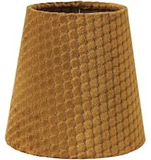 Queen Lampskärm Ruta Ocra 12cm