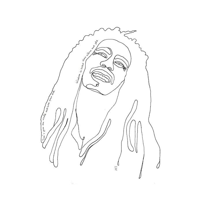 Juliste LW Icons Bob Marley