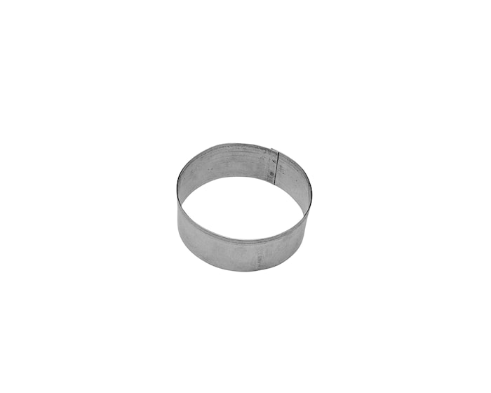 Pepperkakeform Ø4cm Stål, Ring