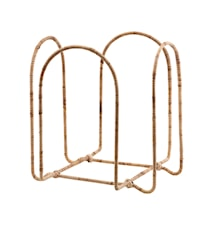 Magazine Rack Read Cane/Iron
