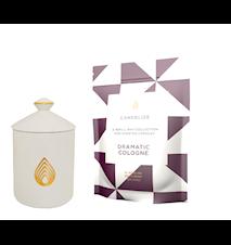 Doftljusbehållare med Doftljus refill 300 g