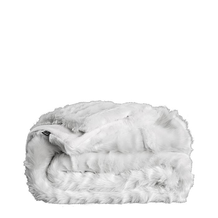 Leia White Pläd 150x260
