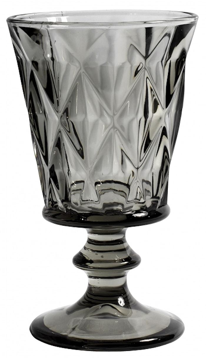 DIAMOND Vitvinsglas Grå