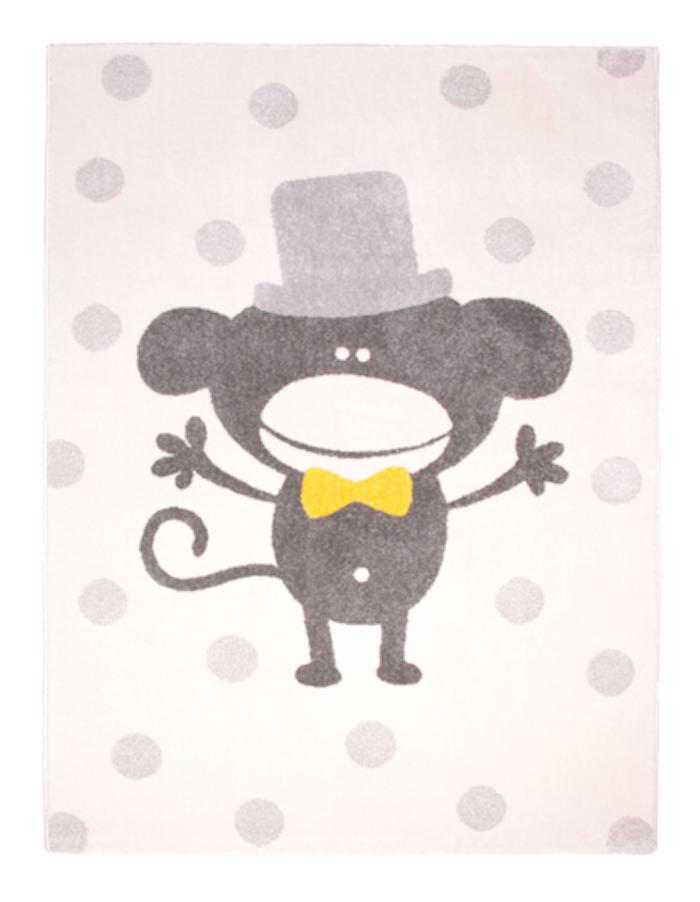 Polka Monkey tæppe