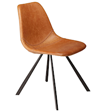 Pitch stol – Lysebrun/svart