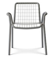 Stitch armchair stol - Grå