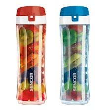 Extra Tritan Flaskor 2-pack 0,8L