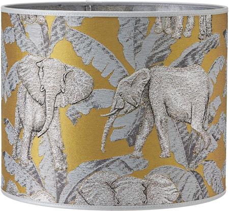 Sara Mønstret Elefant Zama 30 cm