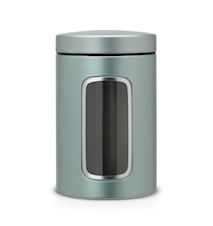 Säilytysrasia ikkunalla 1,4 L Metallic Mint