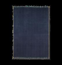 Herringbone Blanket Dark Blue