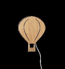 Air Balloon Lamp - Oiled Oak