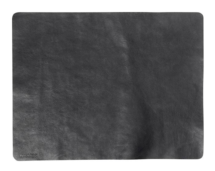 Dækkeserviet Camou Sort Buffalolæder 35x45 cm