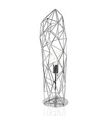 Bordlampe Diamond Statue Krom