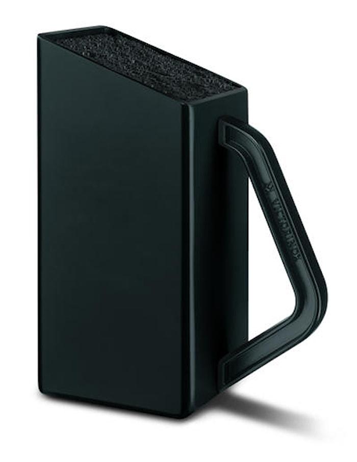 Lille knivblok, sort, uden knive, SwissClassic