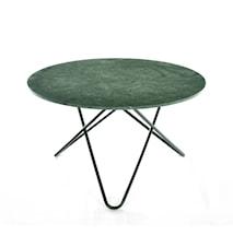 Big O table Spisebord Green Indio/Sort Ø120 cm