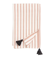 Bordduk Stripe - Peach/off white