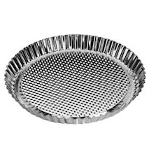 Kuchenform 27 cm Silber