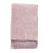 Tæppet Velvet m/frynser