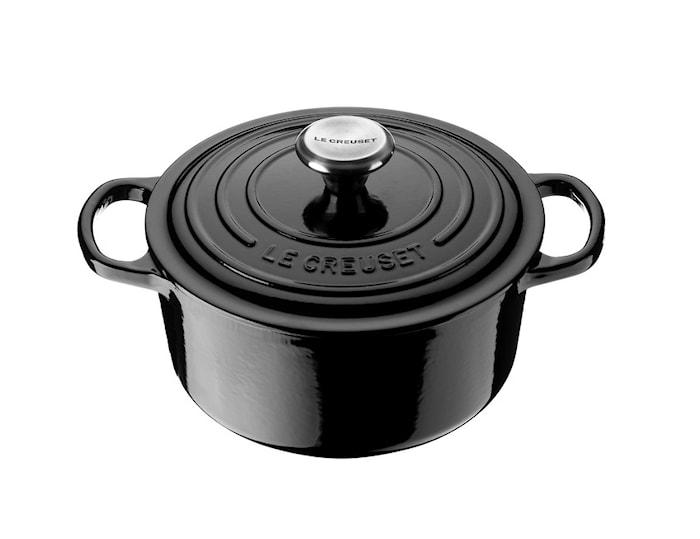Runder Kochtopf 24 cm Black