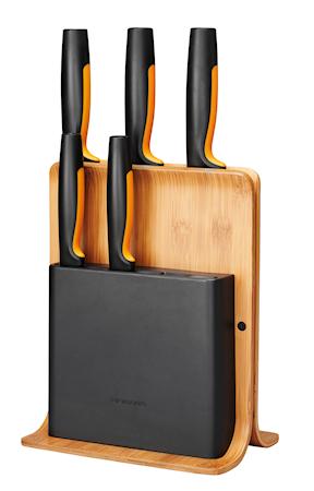 FF Knivblok Bambus m/5 knive