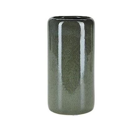 Vase Grønn 22 x 12,5 cm