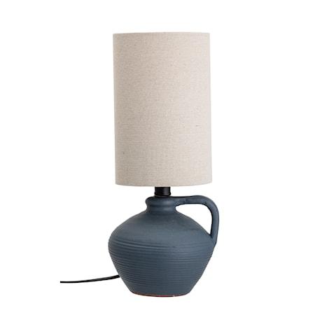 Bordslampa Terrakotta Blå