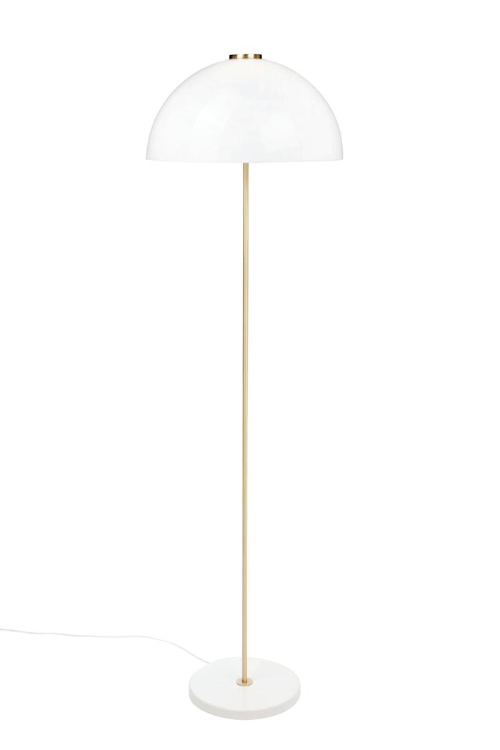 Golvlampa Kupoli - Vit