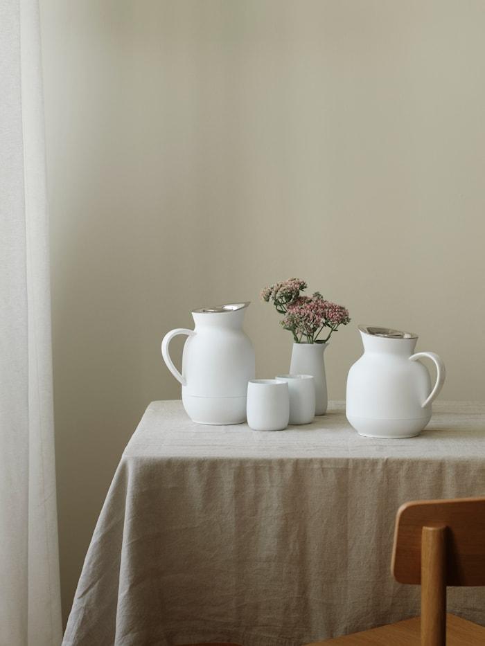 Amphora Vakuum Kaffetillbringare soft white 1L