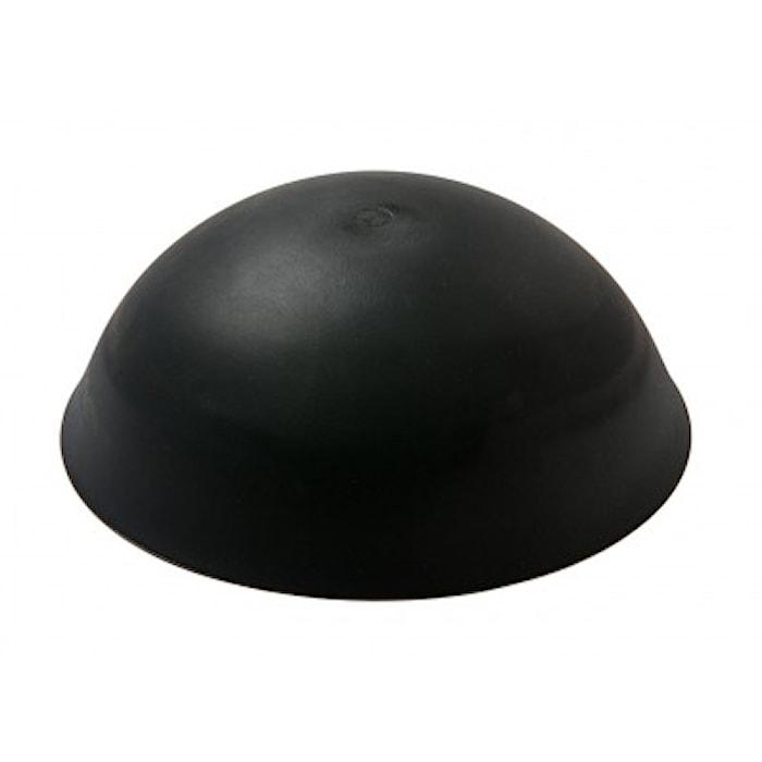 Kattokuppi ilman reikää. Musta