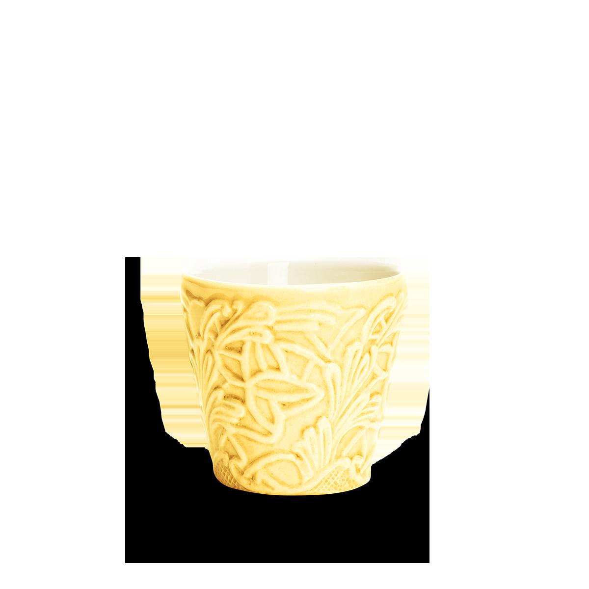 Spets Espressokopp Gul 10 cl