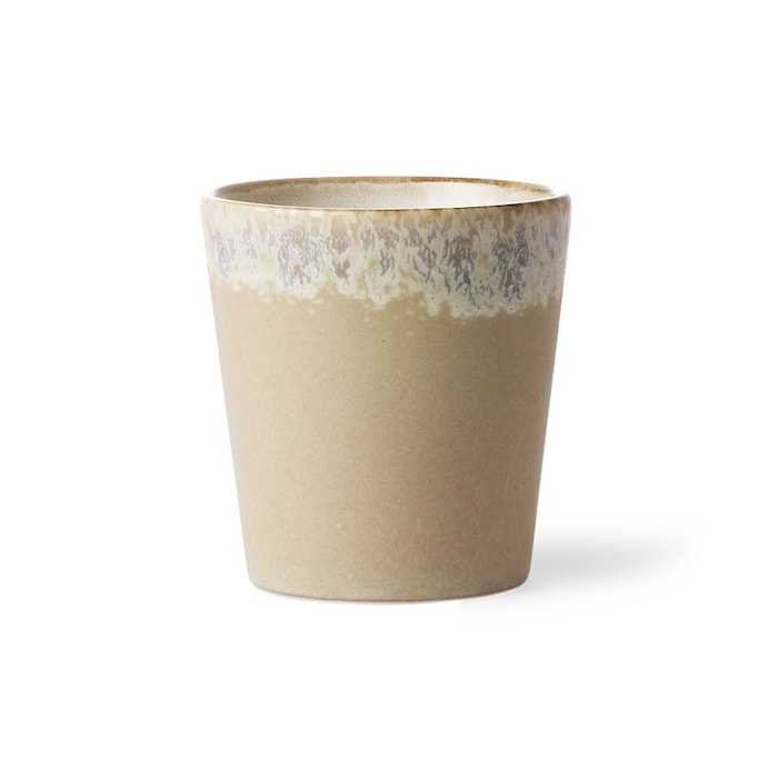 70's Keramik Mugg Beige