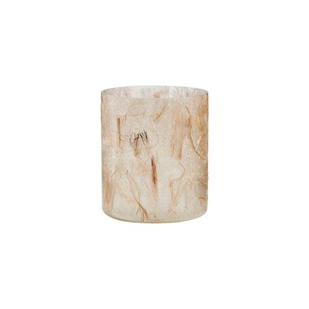 Lämpökynttilänjalka Raipur Beige 10 cm