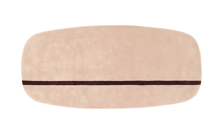 Oona Teppe Rosa 90x200 cm