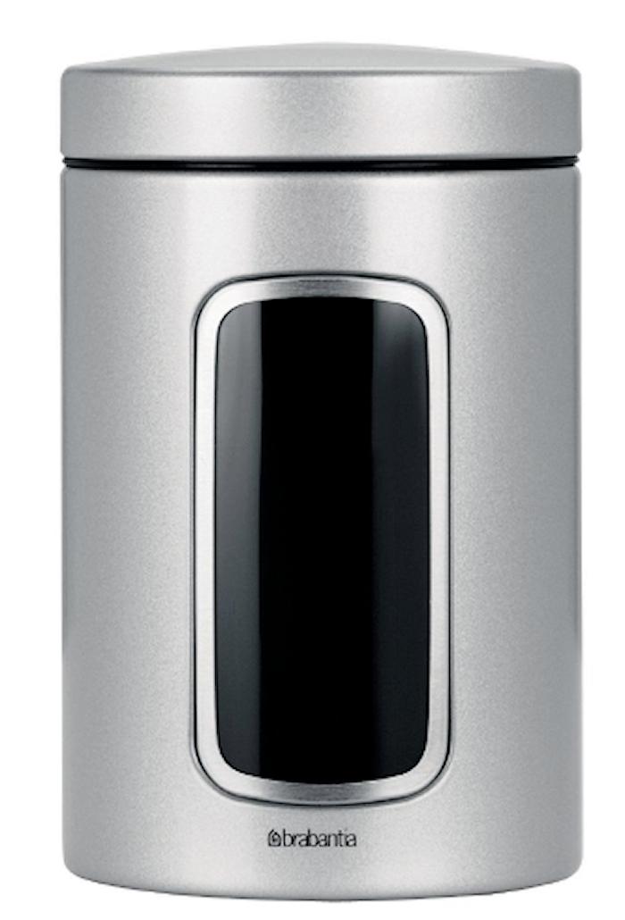 Säilytysrasia ikkunalla 1,4 L Metallic Grey