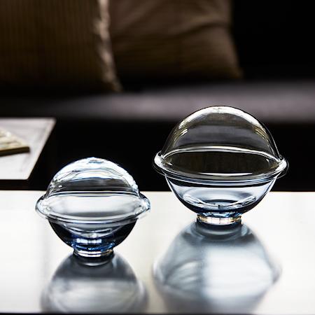 Chapeau Bonbonkrukke Pustet Glas Midnight Blue Ø16 cm