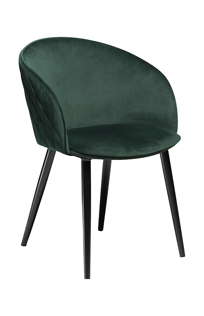 Stol Dual Velour - Emerald Grön