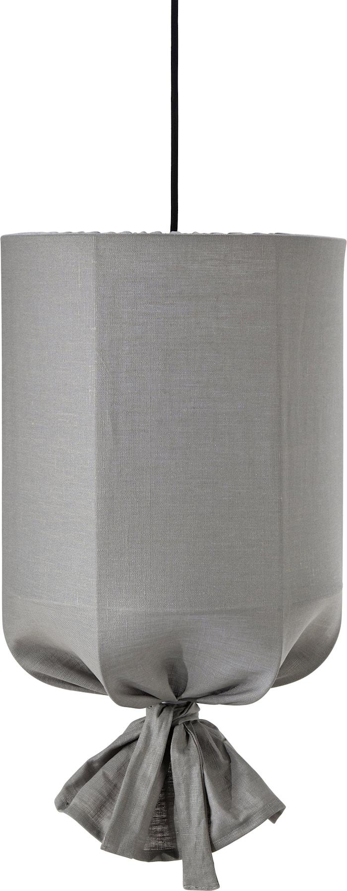Round Outdoor Lin Ljusgrå 30cm