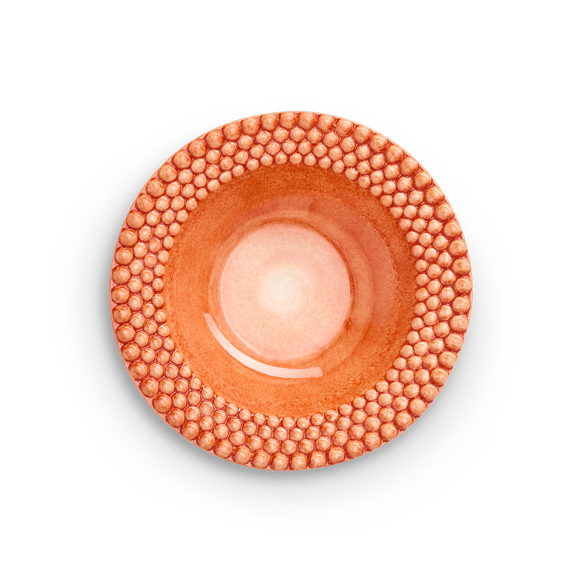 Bubbles Sopptallrik Orange 25 cm